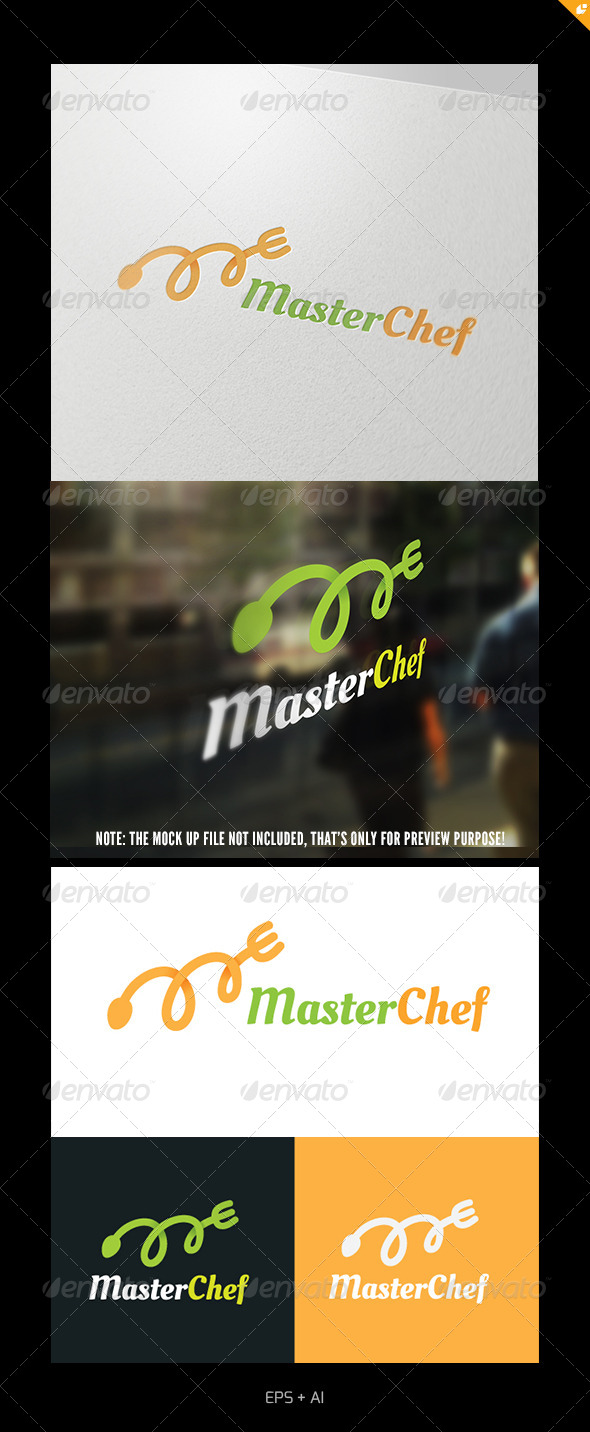 Master Chef - Food Logo Templates
