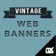 Vintage Web Banners - GraphicRiver Item for Sale