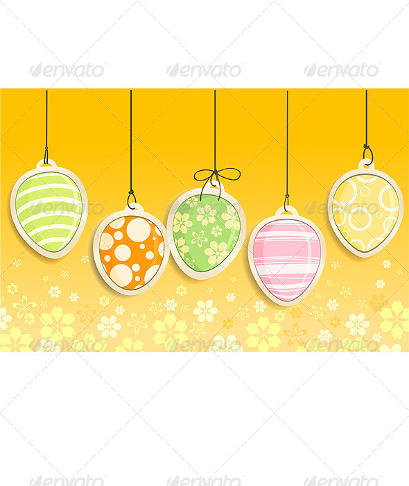 Decorative Easter Eggs  - Decorative Symbols Decorative