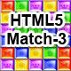 Seven Senses - HTML5 Match-3 - CodeCanyon Item for Sale