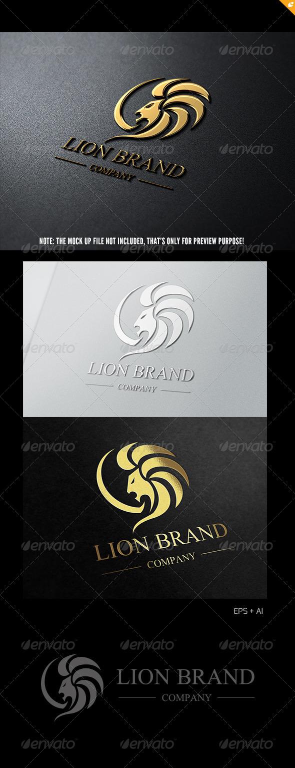 Lion Brand Logo 1 - Crests Logo Templates