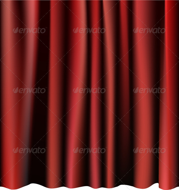 Red Curtain - Miscellaneous Conceptual
