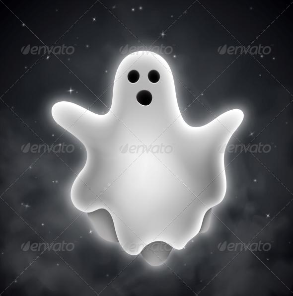 Ghost Outdoors - Halloween Seasons/Holidays