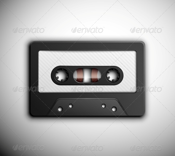 Audio tape - Retro Technology