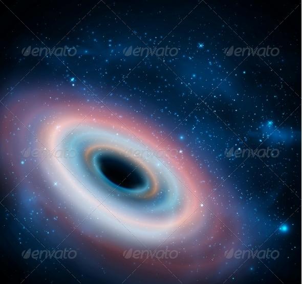 Black Hole - Landscapes Nature