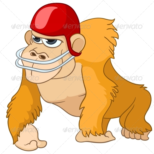 Cartoon Character Monkey - Animals Characters