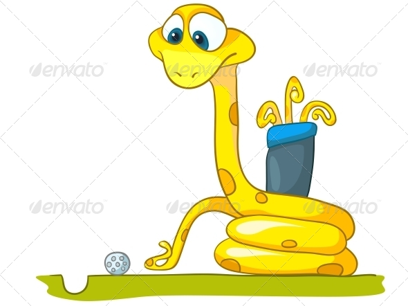 Cartoon Character Snake - Animals Characters