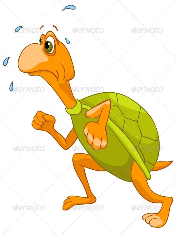 Cartoon Character Turtle - Animals Characters