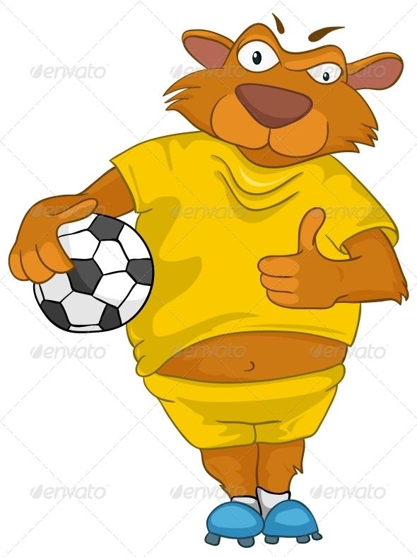 Cartoon Character Bear - Animals Characters