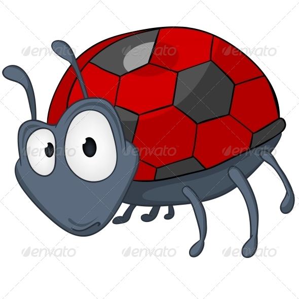 Cartoon Character Ladybird - Animals Characters
