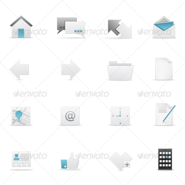 Icon set - Web Elements Vectors