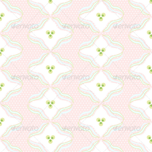 Seamless Pattern with waves - Backgrounds Decorative