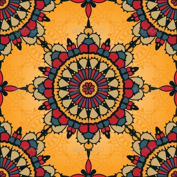Traditional Seamless Pattern - Patterns Decorative