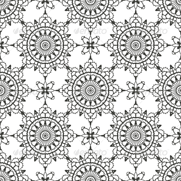 Lace Seamless Pattern - Patterns Decorative