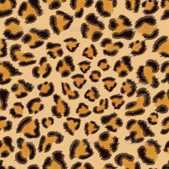 Leopard Seamless Pattern - Patterns Decorative