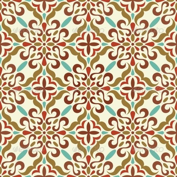 Traditional Seamless Pattern - Patterns Decorative