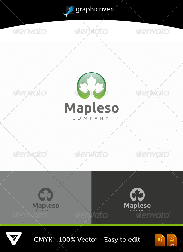 Mapleso - Logo Templates