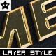 Ten Worn Metal Layer Styles - GraphicRiver Item for Sale