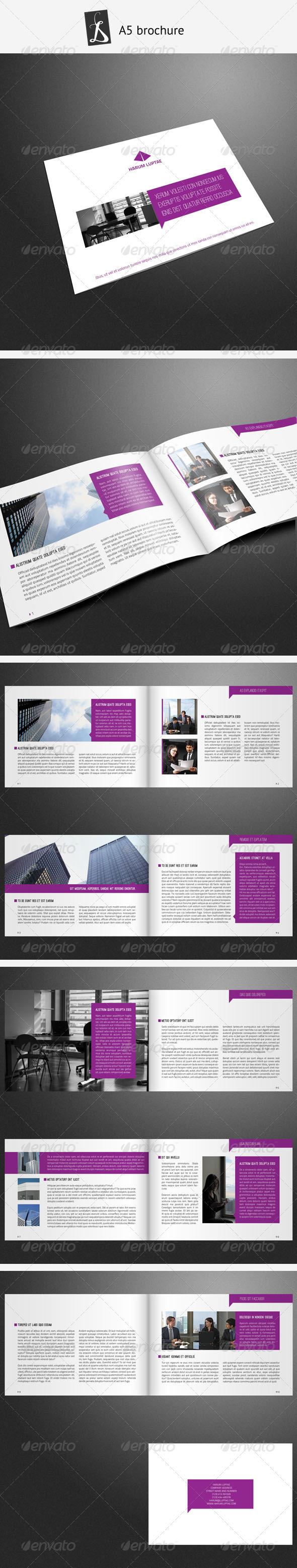 A5 Brochure 8 - Corporate Brochures