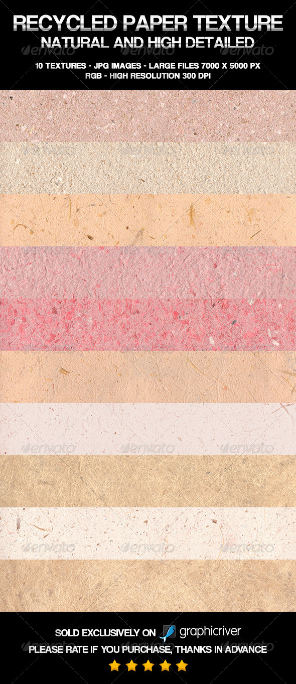 Recycled Paper Texture - Paper Textures