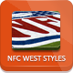 NFL Football Styles - NFC West - GraphicRiver Item for Sale