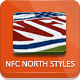 NFL Football Styles - NFC North - GraphicRiver Item for Sale