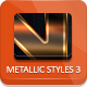 Unique Metallic Styles - Part 3 - GraphicRiver Item for Sale