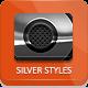 Dark Silver Metallic Photoshop Styles - GraphicRiver Item for Sale