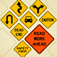 Road Sign Set - GraphicRiver Item for Sale