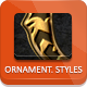 Ornamental Photoshop Styles - GraphicRiver Item for Sale