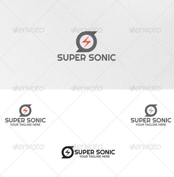 Super Sonic - Logo Template - Symbols Logo Templates