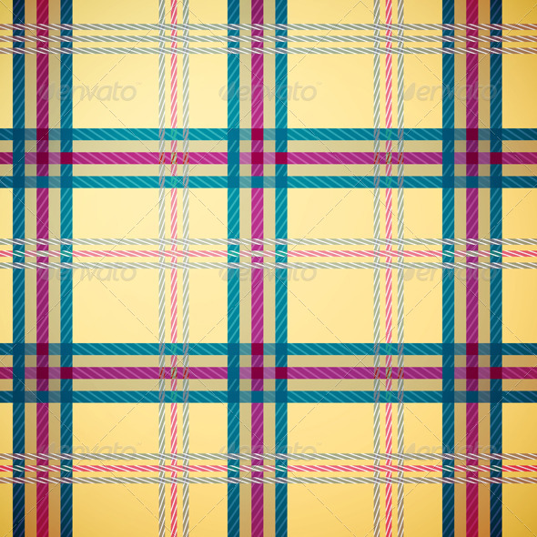 Tartan Plaid Pattern Background - Backgrounds Decorative