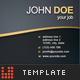 Simple Wave Business Card - GraphicRiver Item for Sale