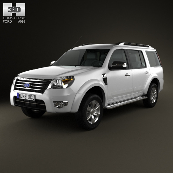 Ford Everest 2012 - 3DOcean Item for Sale