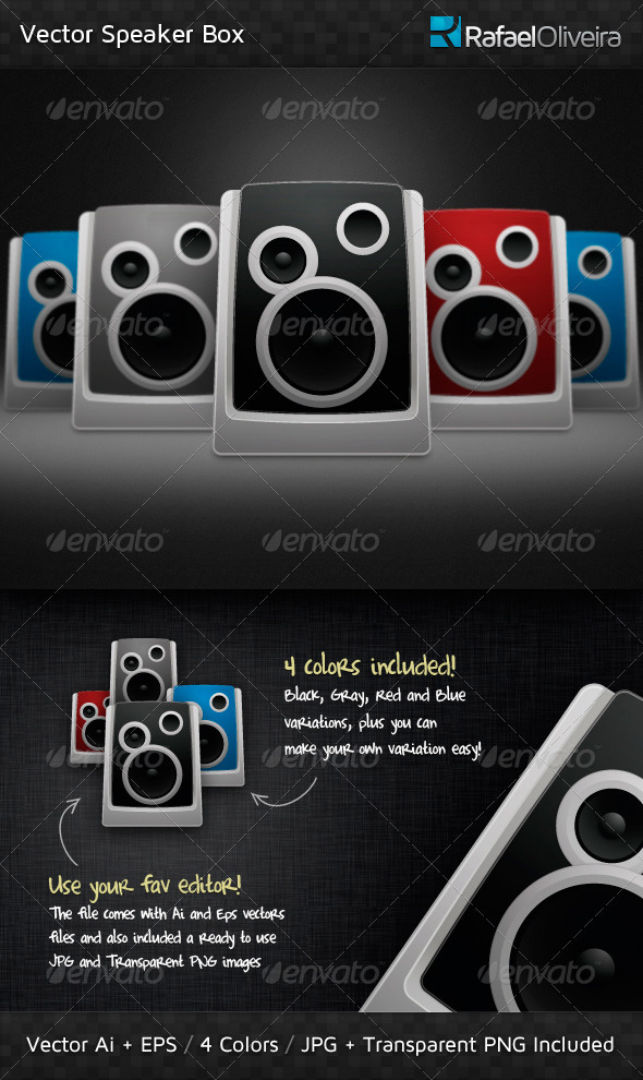 Vector Speaker Box - Media Technology