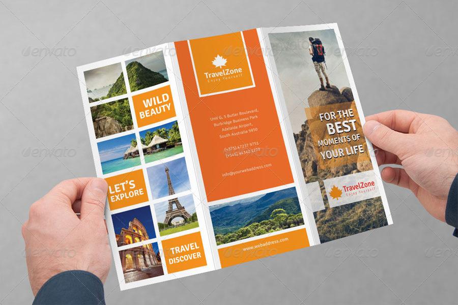 Trifold Travel Brochure Doritrcatodos