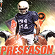 Preseason Football Party - GraphicRiver Item for Sale