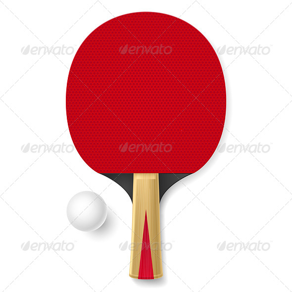 Tennis Racket - Objects Vectors