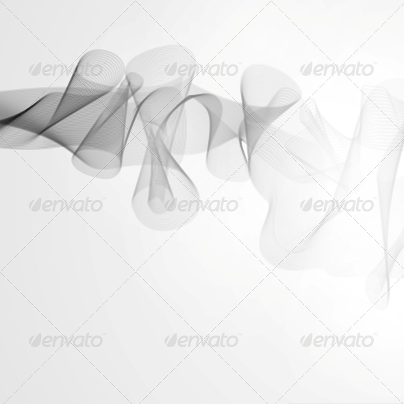 Smoke Background - Abstract Conceptual