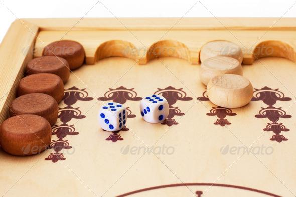 Backgammon - Stock Photo - Images