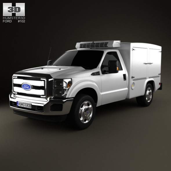 Ford Super Duty 8 Series 2011 - 3DOcean Item for Sale