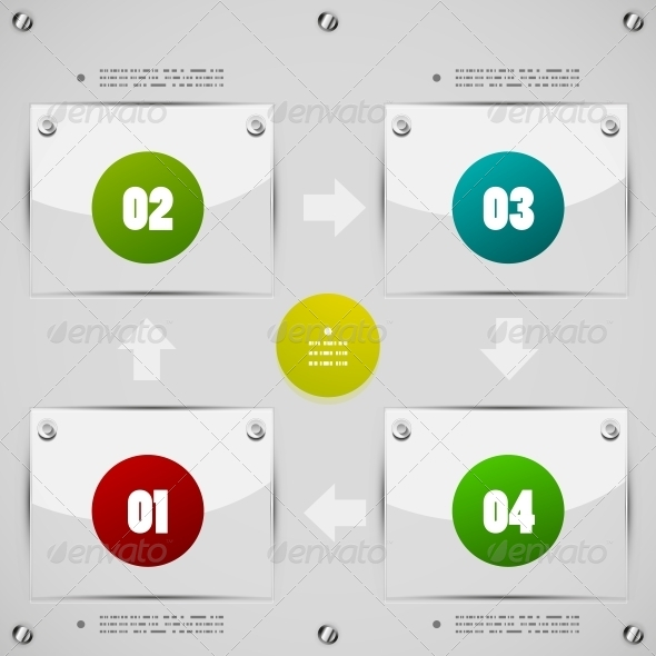 Modern Options Template  - Miscellaneous Vectors