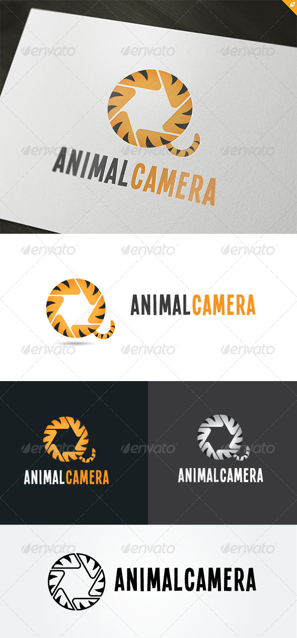 Animal Camera Logo - Animals Logo Templates