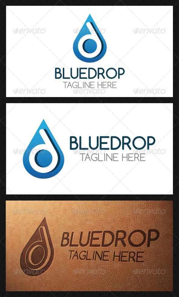 Drop Letter D Logo Template - Letters Logo Templates