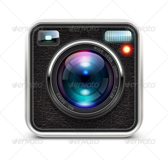 Photo Camera - Technology Conceptual