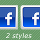 70 Social Media Icons - Square, 2 styles - GraphicRiver Item for Sale