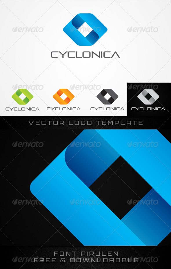 CYCLONICA - Vector Abstract