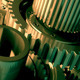 Industrial Machinery Gears in Motion - VideoHive Item for Sale