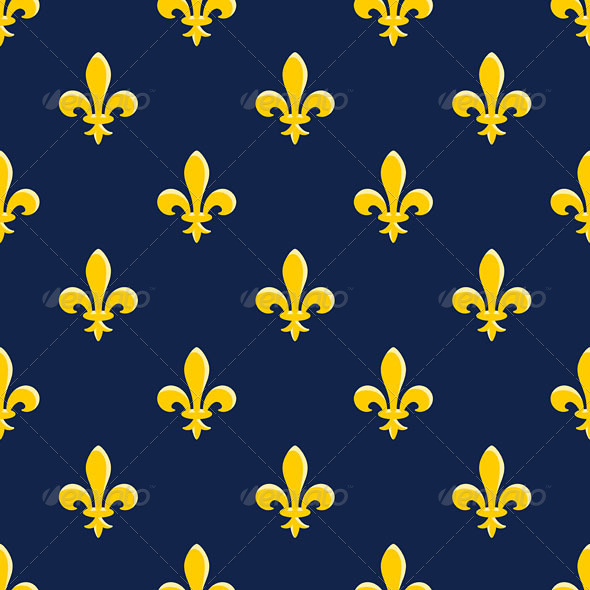 Yellow Emblem Pattern - Patterns Decorative