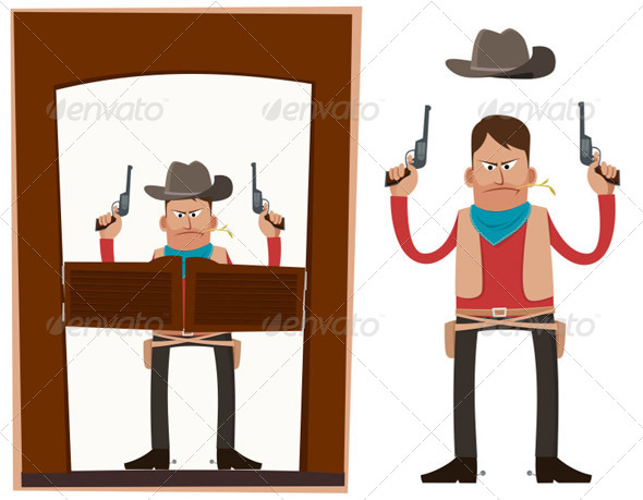 Cowboy in Action - People Characters